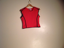 Womens MoretULTRA red tank-top Size L Excellent condition