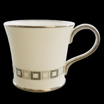 Prouna Bone China Cube Chain Coffee Mug Decorated with Swarovski Crystals - $182.33