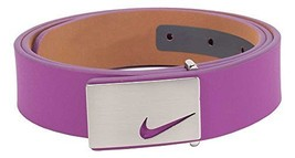 "Nike Women's Sleek Modern Nappa Leather Belt 1-1/4"" (32mm) Wide - Bold B... - $44.55"