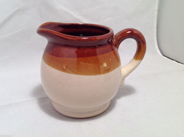 Set of 5 Rustic Glazed Country Pottery Pieces Creamer Jugs Sugar Bowls Milk Vase image 4