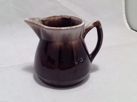 Set of 5 Rustic Glazed Country Pottery Pieces Creamer Jugs Sugar Bowls Milk Vase image 5