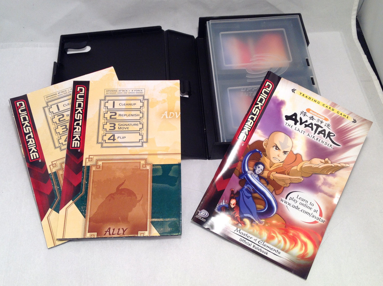 Quickstrike trading card game system