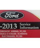 2013 Ford TRUCK F-250 F350 F250 450 550 Service Shop Repair Manual ON CD... - $277.15