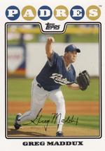 Greg Maddux 2008 Topps Series 2 Card #625 - $0.99