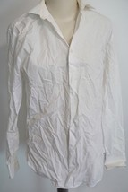 John Varvatos Star USARegular Fit Dress Shirt sz 14.5 - 32/33 white -we... - $24.74