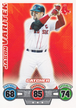 Jason Varitek 2009 Topps Attax Card - $0.99