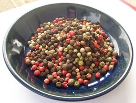 Peppercorns Rainbow Mixed 5 Color Whole  2,4,8,16,32 Oz  Resealable Bag - $6.99+