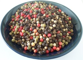 Peppercorns Rainbow Mixed 4 Color Whole  2, 4, 8, 16, 32 Oz  Resealable Bag - $7.39+