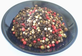 PEPPERCORNS WHOLE RAINBOW MIXED 5-COLORS   2, 4, 8, 16, 32 OZ  RESEALABL... - $6.90+