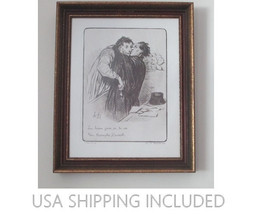 "Lithograph After Honoré Daumier ""The Triumph of... - $95.00"