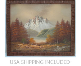 Plein Air Impressionist Oil Painting Signed ROT... - $225.00