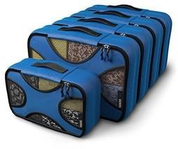 Shacke Pak - 5 Set Medium/Small Packing Cubes - Travel Organizers Gentle... - £28.60 GBP