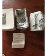orbit/umi 120v evergreen Aluminum Recess step/wall light s712 White New - $69.00