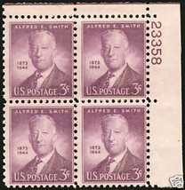 1945 3cent #937 Plate Block of 4 unused - $1.62