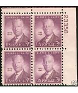 1945 3cent #937 Plate Block of 4 unused - $1.62