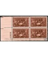 1947 3cent #949 Plate Block of 4 unused - $1.62
