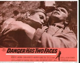 Danger Has Two Faces 11x14 Lobby Card #1 - $7.83