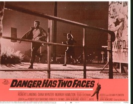 Danger Has Two Faces 11x14 Lobby Card #3 - $7.83