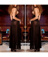 Ladies Hot Sexy Lingerie Lace Dress Underwear Black Baby Doll + G-String... - $9.85