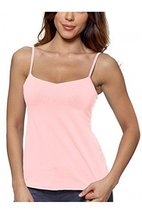Alessandra B Underwire Bra Classic Camisole (40DD, Pink) - $24.99