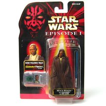 Star Wars The Phantom Menace Commtech Jedi Master Mace Windu - $9.99