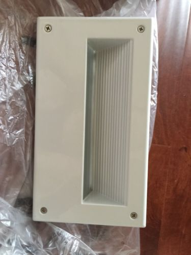 orbit/umi 120v evergreen Aluminum Recess step/wall light s712 White New image 10