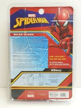Spiderman Marvel Walkie Talkies Fun Kid Action Hero Toy BDay Holiday Gift NEW - $16.82
