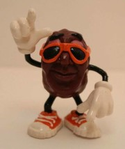 Vintage 1987 California Raisins Collectible Figurine Orange Sunglasses D... - $5.89