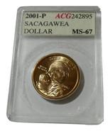 2001 P Sacagawea Dollar MS67 ACG 242895 Estate ... - $15.00