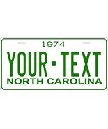 North Carolina 1974 Personalized Tag Vehicle Car Auto License Plate - $16.75