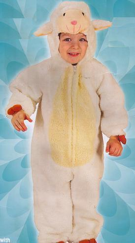 LITTLE LAMB Deluxe PLUSH 2/4 Childs Costume