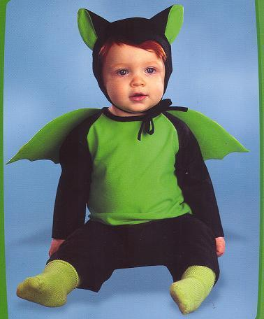 LITTLE BAT COSTUME 3-12 MONTHS INFANT SZ