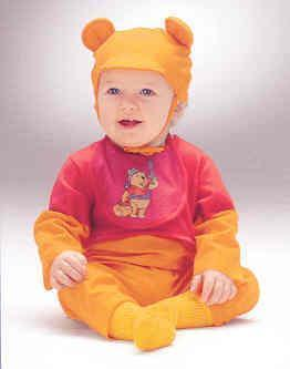Baby Pooh Bear Infants Costume 6-12 MONTHS