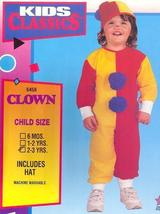 Clown Childs Costume size 1/2 Toddler - $19.00