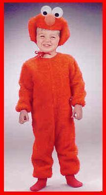 Sesame Street ELMO 4/6 childs costume