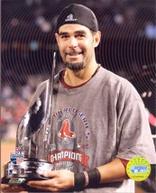 2007 Series MVP Mike Lowell  Boston Red Sox Vintage 8X10  Baseball Photo - $6.99