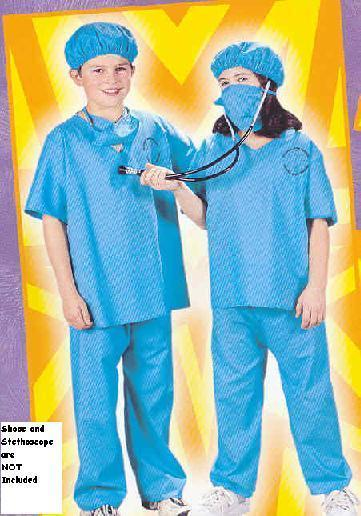 Doctor Scrubs size 8/10 Childs Costume