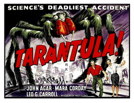 TARANTULA: Rare Vintage 13 x 10 inch Giclee Canvas Movie Poster Print - $19.95