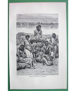 ETHIOPIA Bishari Gum Dealers Africa - Antique P... - $9.89
