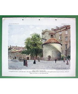 PRAGUE Romanesque Chapel of Holy Cross - COLOR ... - $14.84