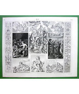 RENAISSANCE ART Works of Raphael Romano Cortona... - $14.84