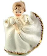 Rubens Origianls young girl lady white dress ce... - $30.00