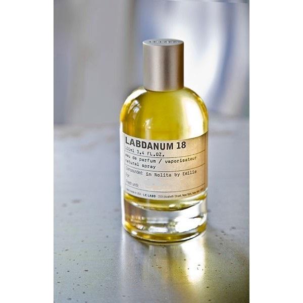 LABDANUM 18 by LE LABO 5ml Travel Spray L18 Cistus Civet Birch Patchouli Perfume