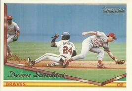 1994 Topps Gold #375 Deion Sanders  - $0.50