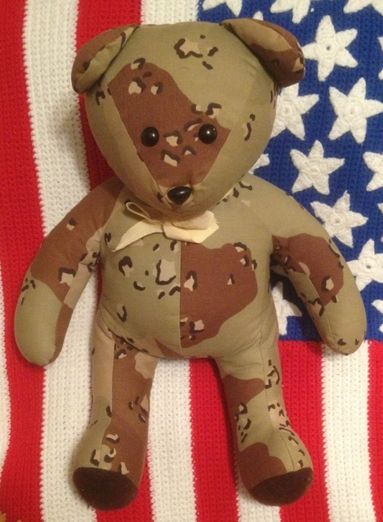 "Primary image for Super Awesome  Camo Teddy Bear Camoflauge Hunting Buddy !!! (Approx 17"")"