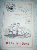 The Guilford Forge Winter Spring 1969 Catalog  Guilford Connecticut  - $3.99