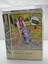 NEW Jogging Stroller Clear Vented Weather Shield Cover by Jeep - Wipes C... - $9.45