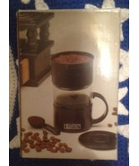 Enjoy Mini Coffee Maker Brews Into Included Mug - $9.99