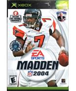 XBox Game - Madden 2004 - $7.50