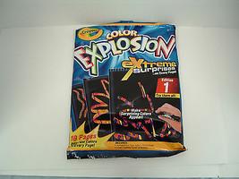 crayola color explosionextreme surprises  edition 1 NOS - $10.66